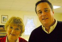 The Newly Elected Vestry Members Janice & Tred