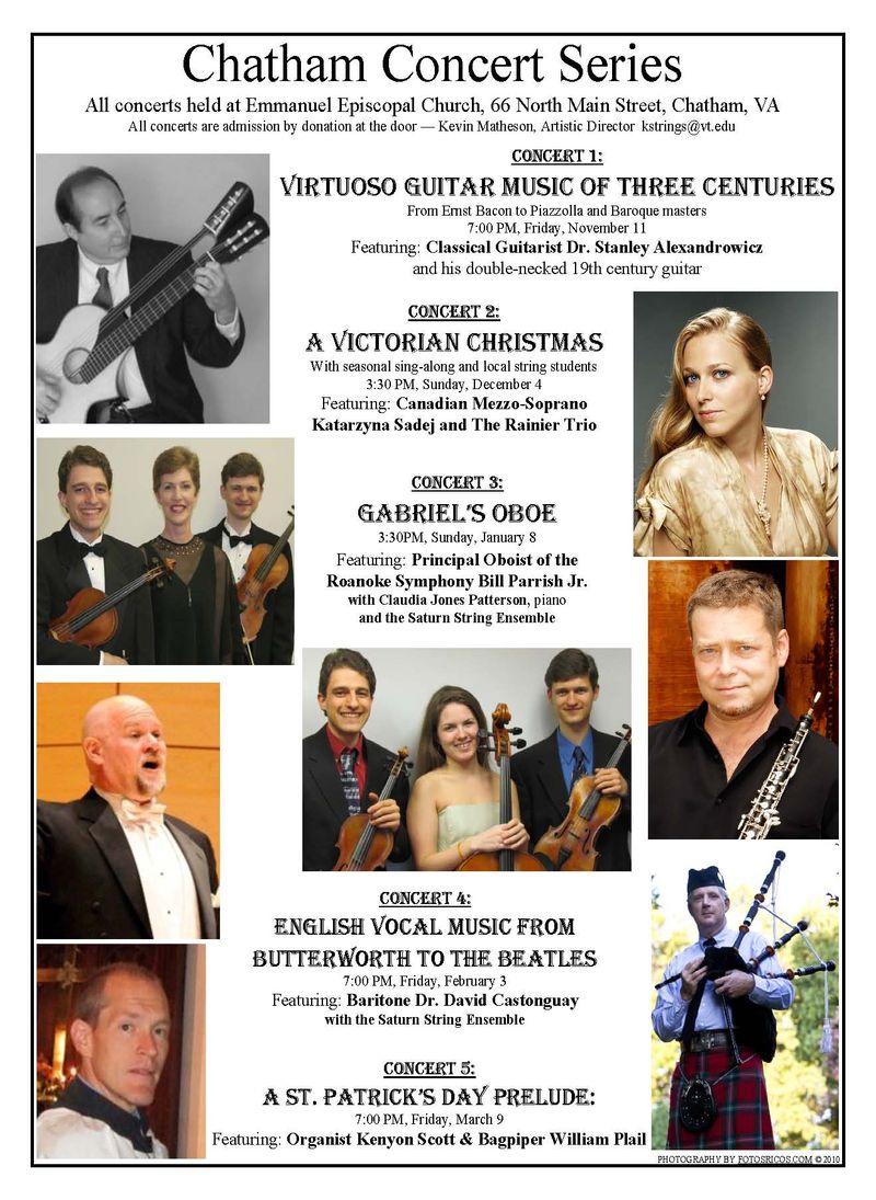 Chatham Concert Series 2011-2012 v2