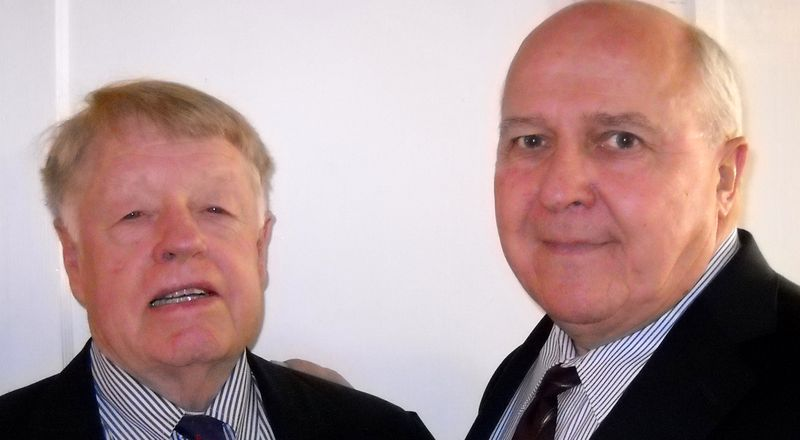 The Two New Vestry Members, Walter Coles & Bill Simpson