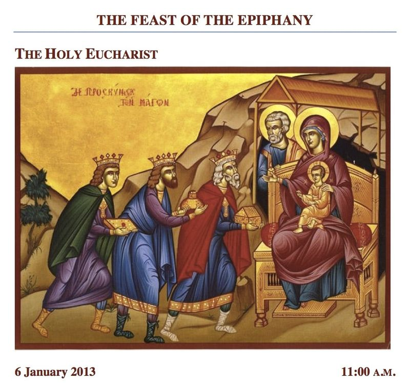 1.6.2013 Epiphany