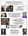 Chatham Concert Series 2013 poster