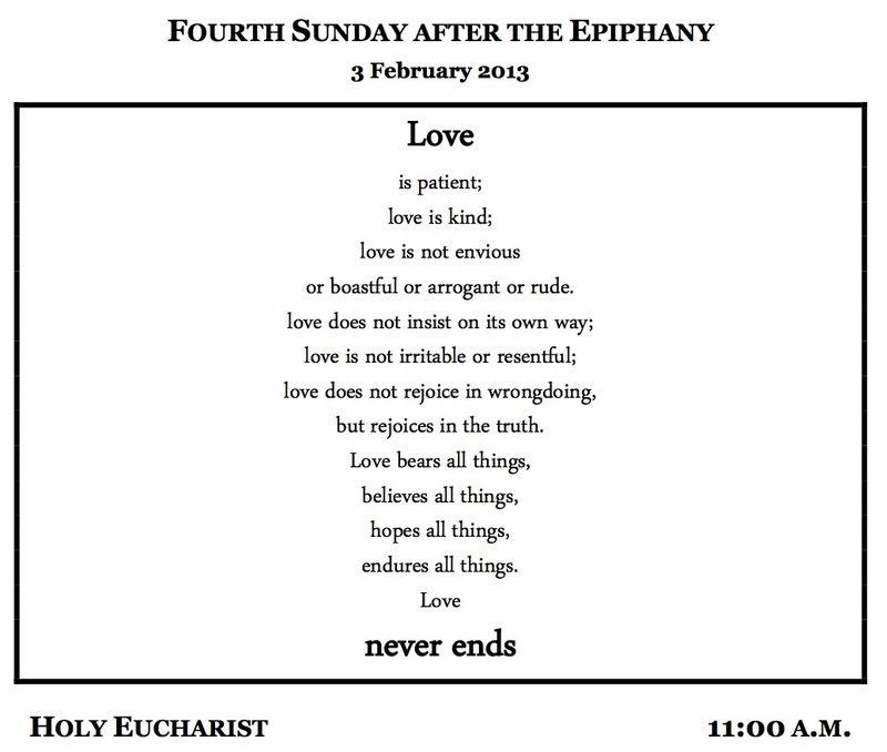 02032013 Epiphany 4C bulletin
