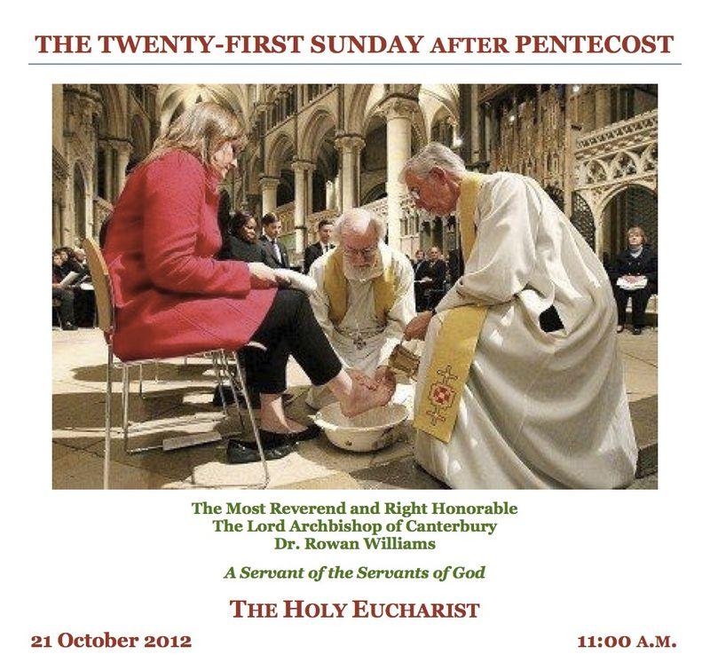 Bulletin 21 Oct 2012