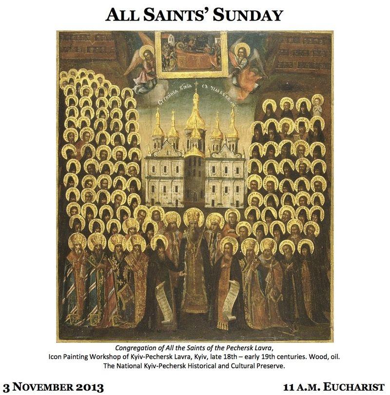 11032013 All Saints Sunday