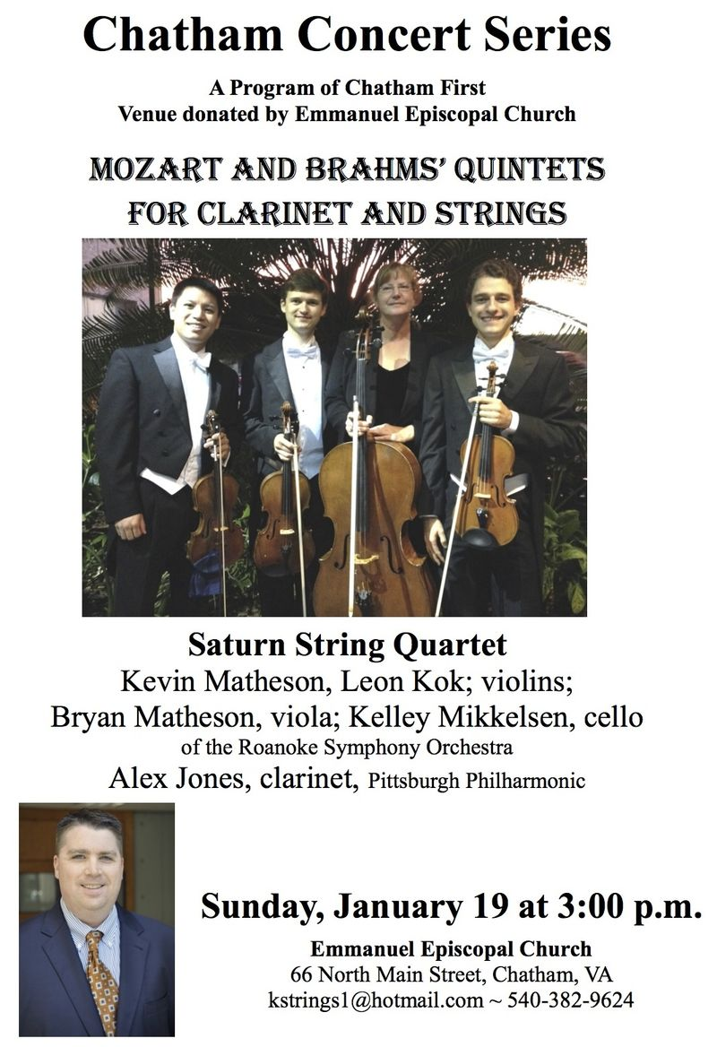 January 2014 clarinet quintets