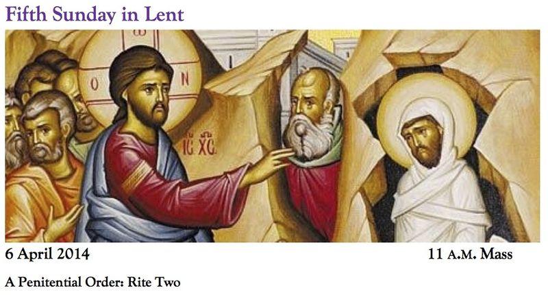 04062014 Lent 5a