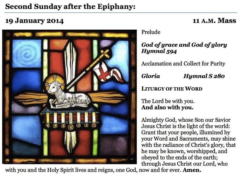01192014 Epiphany 2