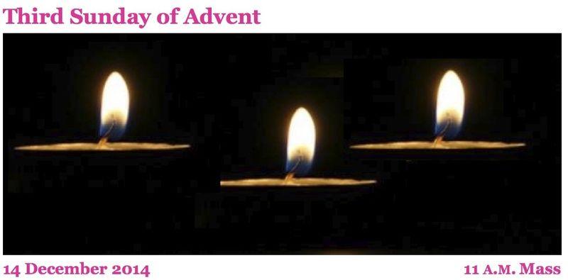 12142014 Advent 3b