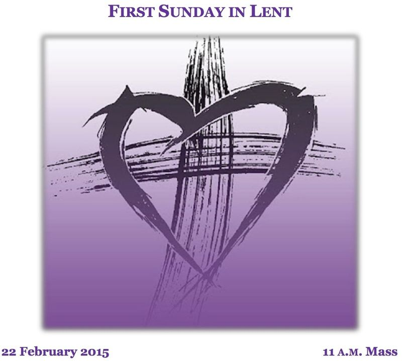 First Sunday in Lent B 02222015