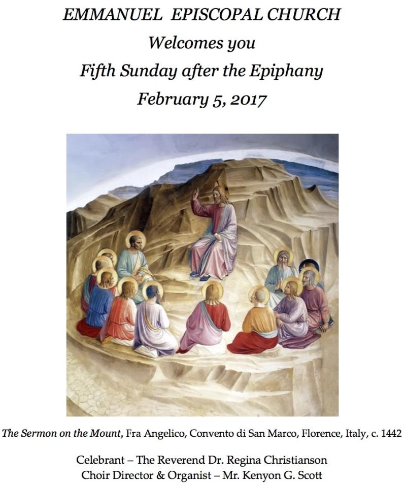 020517 Epiphany 5