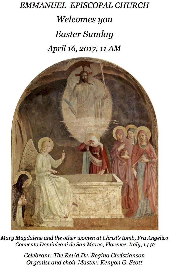 041617 Easter Sunday 11 AM