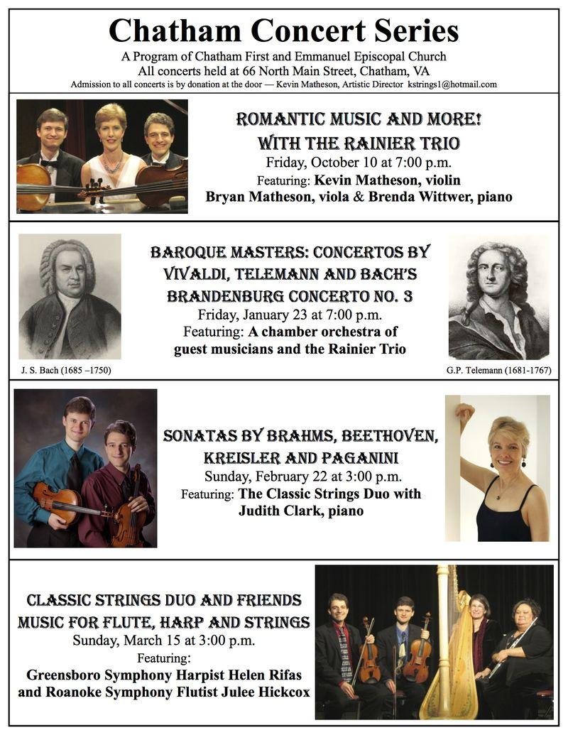 2014-15 Chatham Concert Series 090214