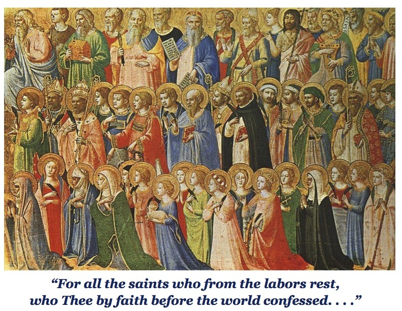 All Saints Sunday and Window Blessing 2014-2
