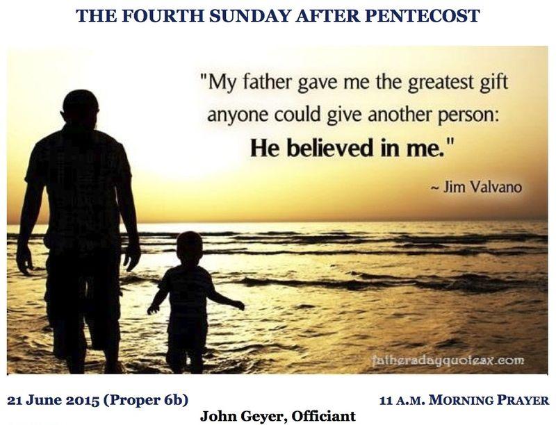 06212015 Proper 7b MP Fathers Day