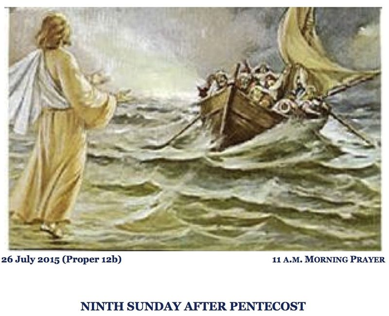07262015 Proper 12b_Morning Prayer