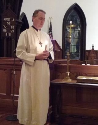 Blue Christmas Service Rev. Jon Woodburn 2