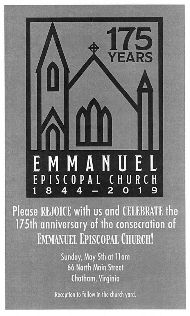 Emmanuel 175 years