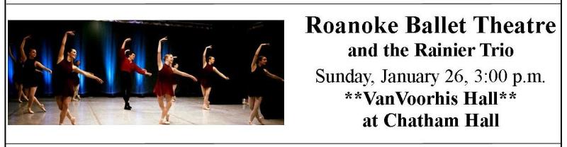 2019-20 Chatham poster - Roanoke Ballet
