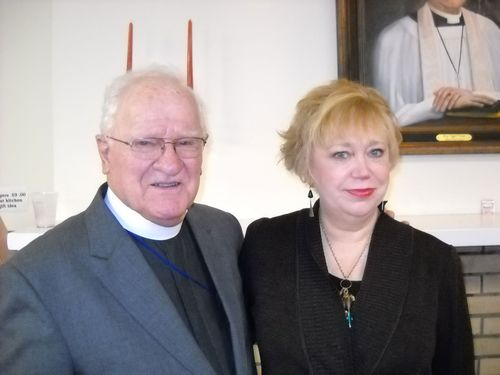 Bishop Light and Katherine Nelson