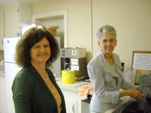Wanda & Janis Smile on KP Duty